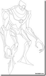 Nanomech Desenhos para colorir Ben 10 Supremacia Alienígena