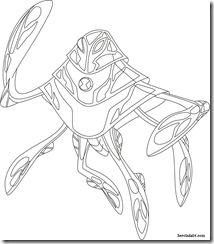 Raad Ampere Desenhos para colorir Ben 10 Supremacia Alienígena