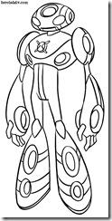 Ultimate Echo Eco Eco Supremo Desenhos para colorir Ben 10 Supremacia Alienígena