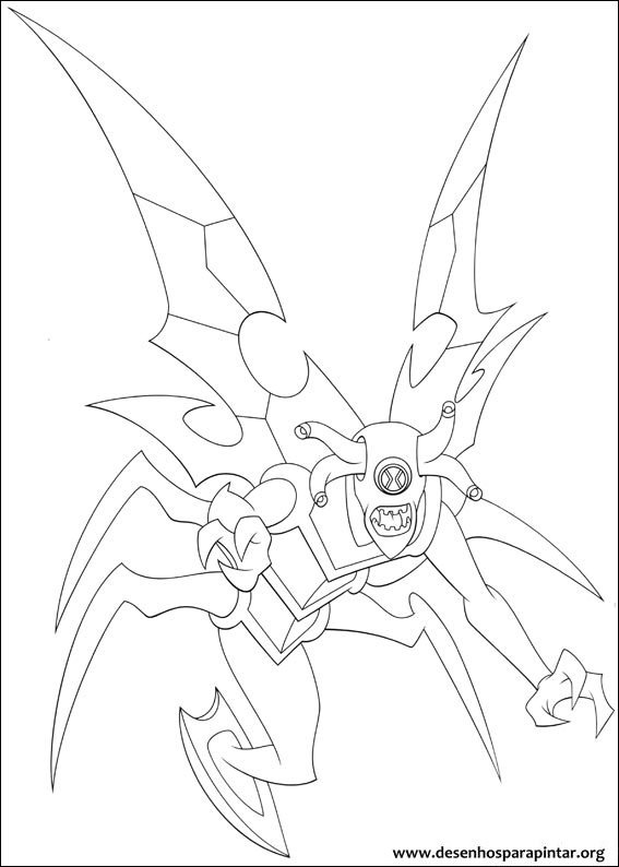ben 10 coloring pages games - photo#49