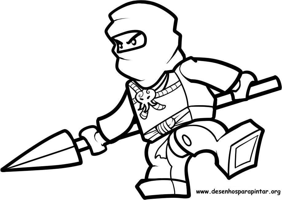 Dibujos para colorear ninjago lego imagui for Jay ninjago coloring pages