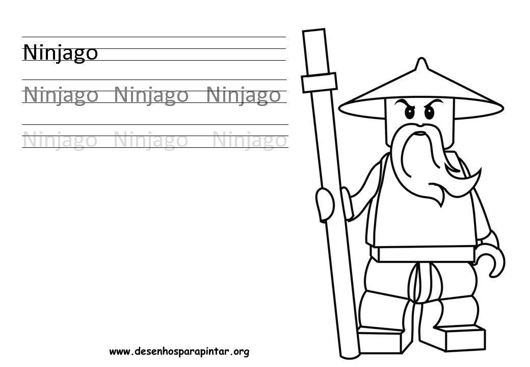 Lego NinjaGo Desenhos para imprimir