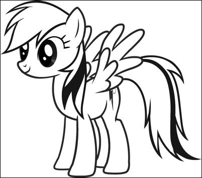 Dibujos de personajes de Equestria Girls (My Little Pony