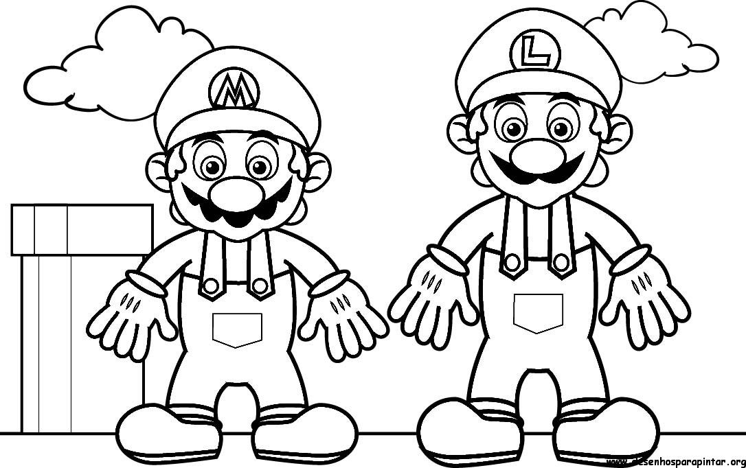 Fotos De Mario Bros Para Imprimir - ARCHIDEV