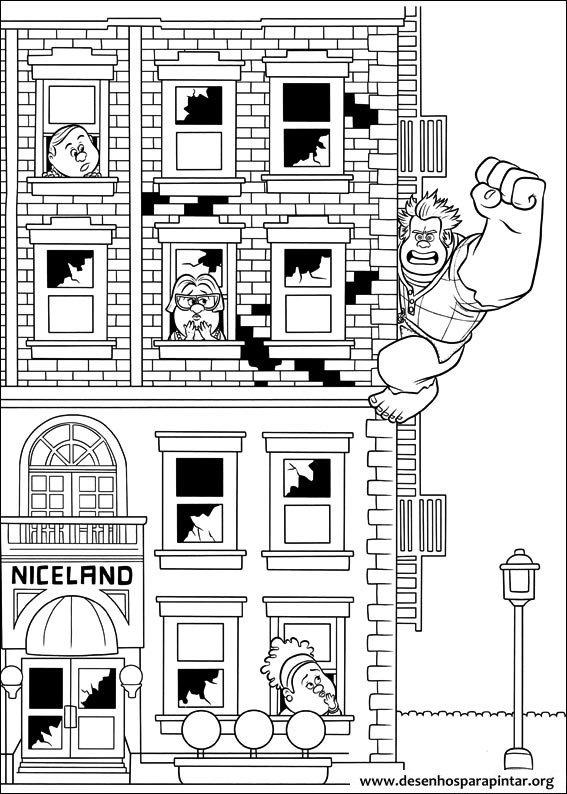 Detona Ralph da Disney desenhos