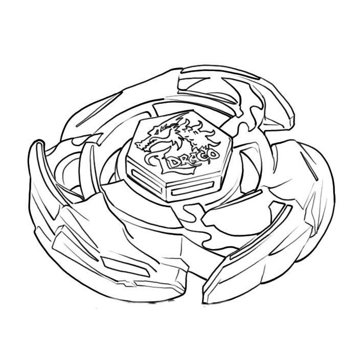 Beyblade desenhos para imprimir pintar e colorir » Desenhos para ...