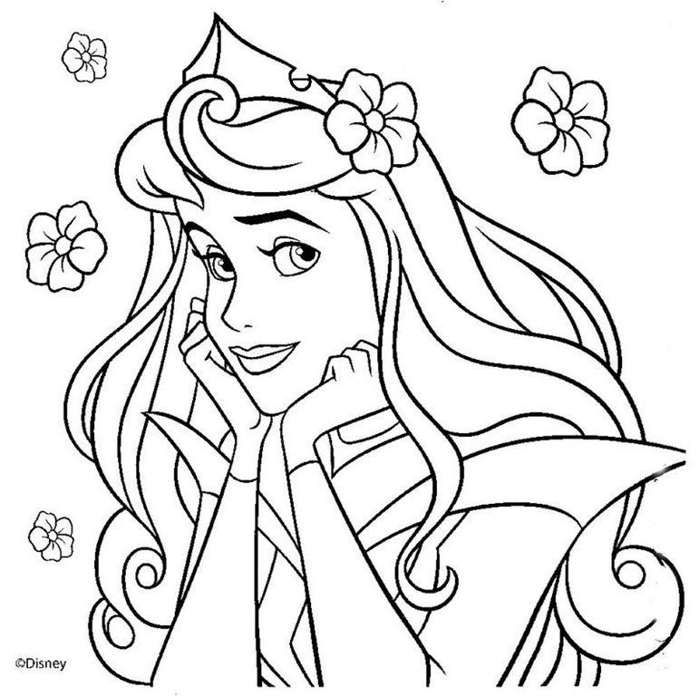 Princesas Da Disney Desenhos Para Colorir Imprimir E