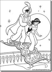 Aladin_Jasmine_genio_disney_desenhos_colorir_pintar_imprimir-15