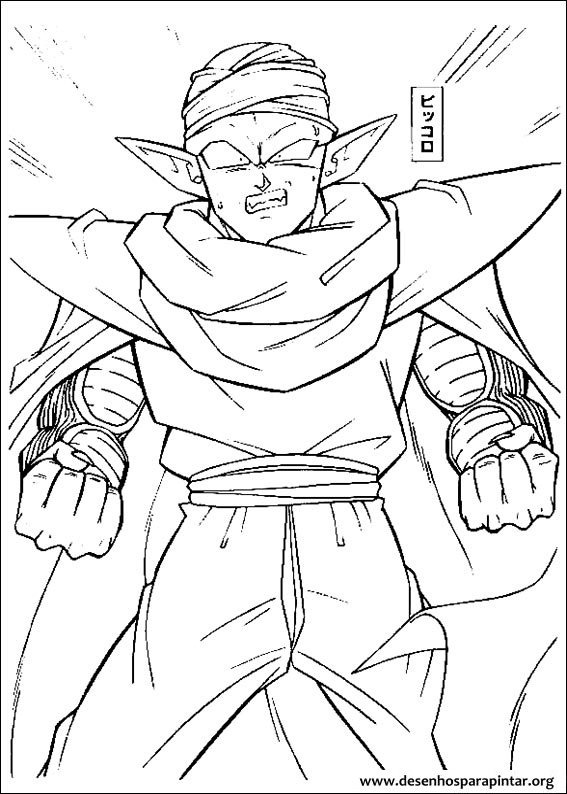 dragon ball z goku goham desenhos colorir pintar imprimir04 furthermore vegeta character sheet by jaydrivera d6nwzsx furthermore  on dragon ball z coloring pages of piccalo