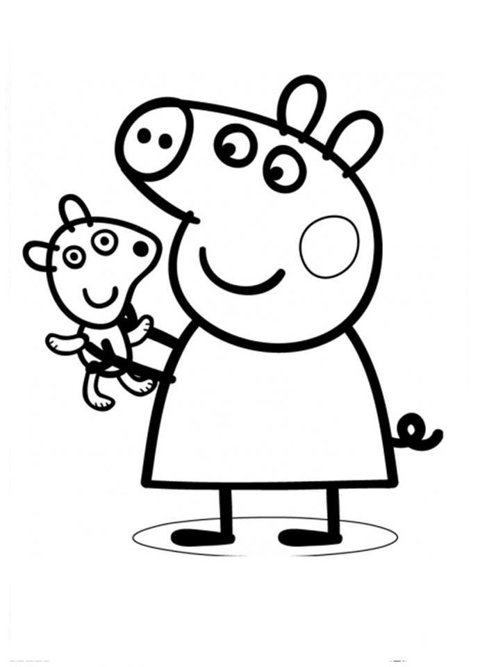 Mark Baker e lançada pela empresa E1 Kids em 2004. Se você como eu adora  essa linda separamos alguns desenhos para colorir da porquinha Peppa Pig.