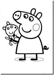 Jogo Para Colorir Infantil Desenhos Jogos De Colorir A Peppa Pig Jogo De  Pintar Infantil Da Barbie