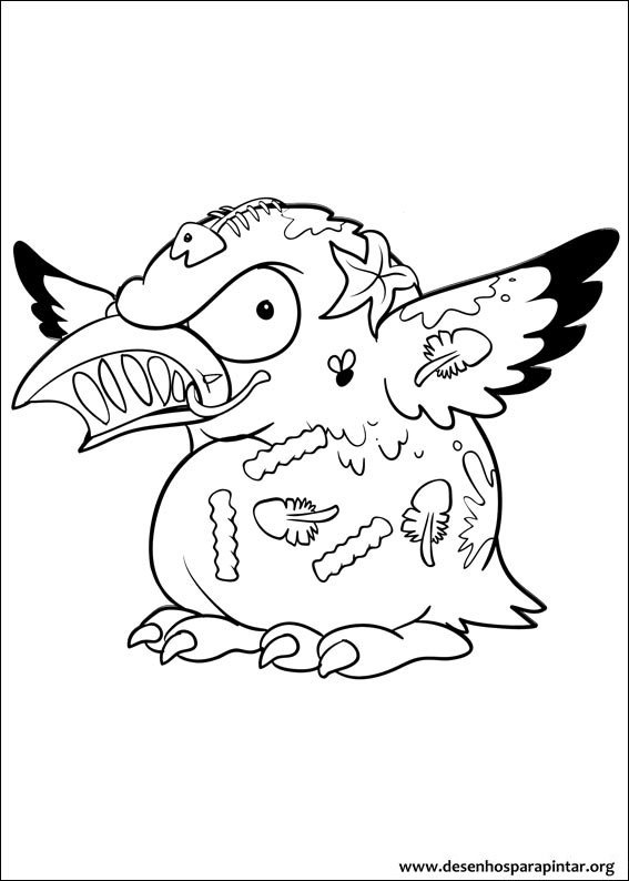 coloring pages trash packs - photo#34