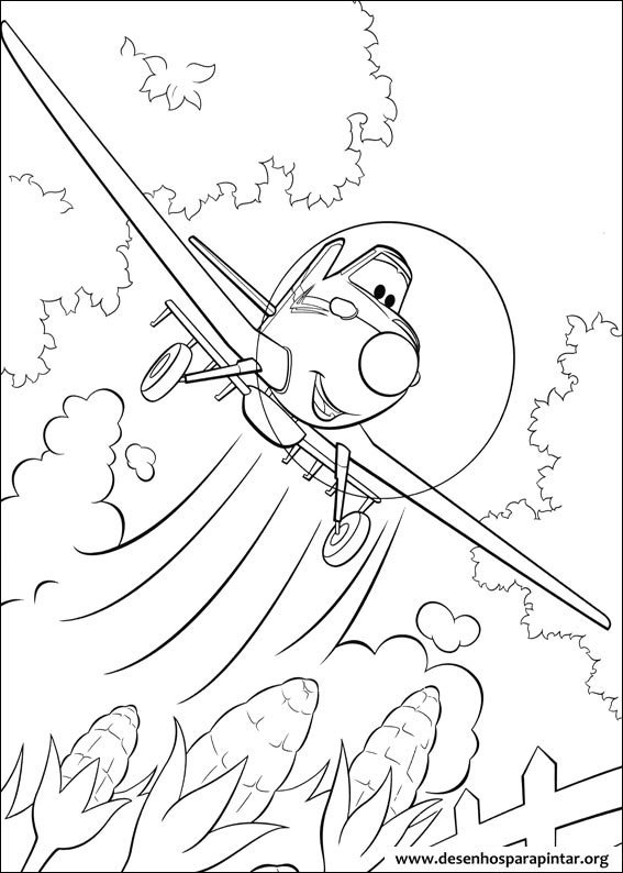 Avi es da disney pixar desenhos para colorir imprimir e pintar desenhos para pintar e colorir - Planes coloriage ...