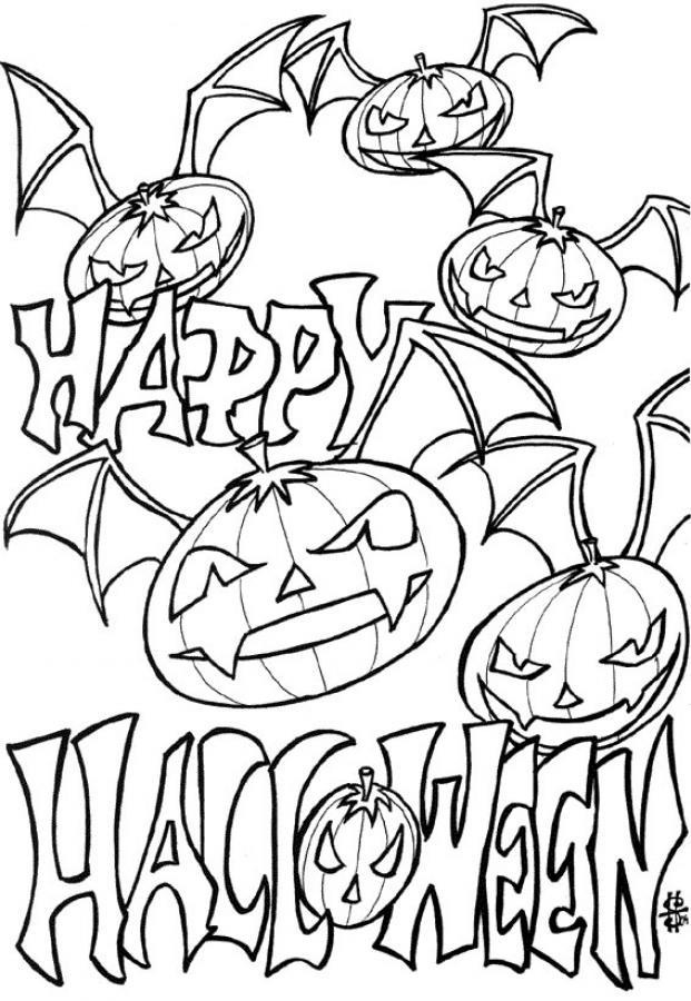 minion coloring pages halloween goblin - photo#21