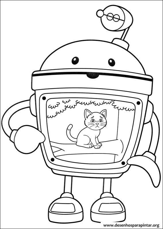 Umizoomi Nick Jr desenhos para imprimir colorir e pintar » Desenhos ...