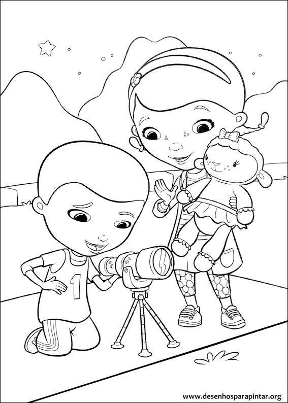 Doutora Brinquedos desenhos para