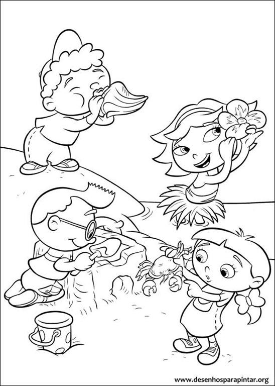 Mini Eisteins da Disney desenhos