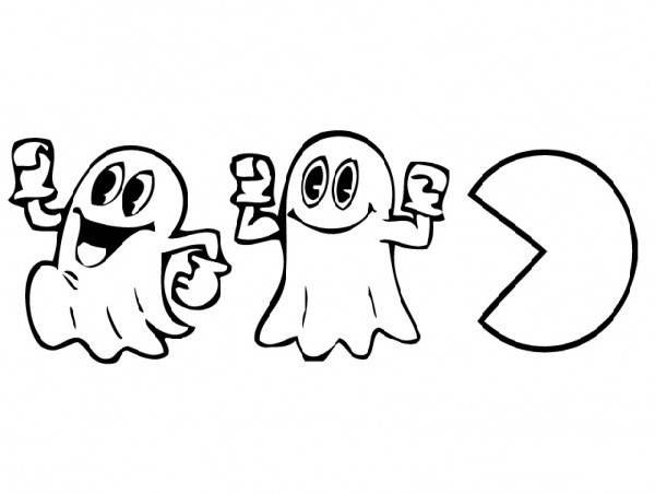 Jogo Desenhos Para Colorir Angry Birds Star Wars No Jogos: Pac-Man Desenhos Para Colorir Imprimir E Pintar Do Come