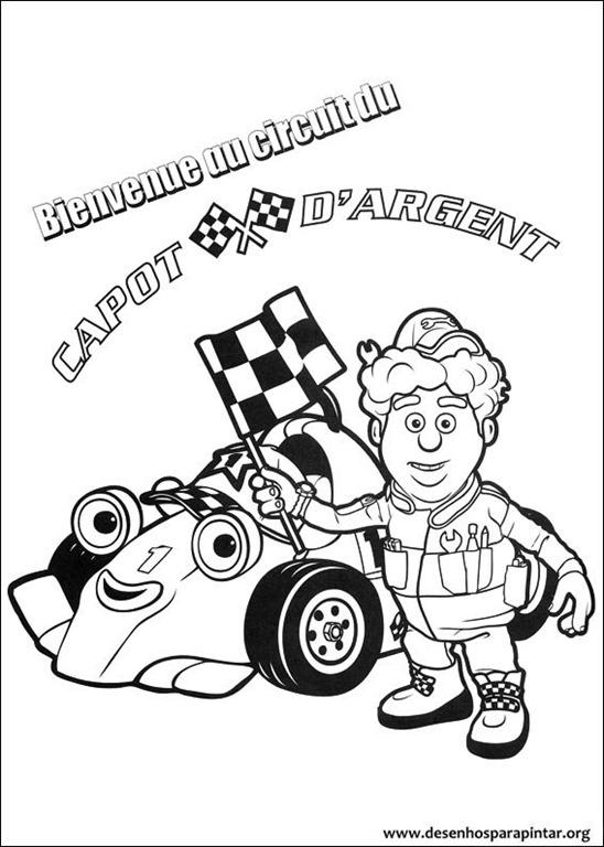 Carros corrida colouring pages - Roary O Carrinho De Corrida Desenhos Para Colorir