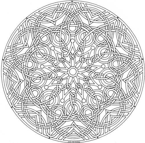 Novos Desenhos de Mandalas Grátis para imprimir colorir e pintar ...