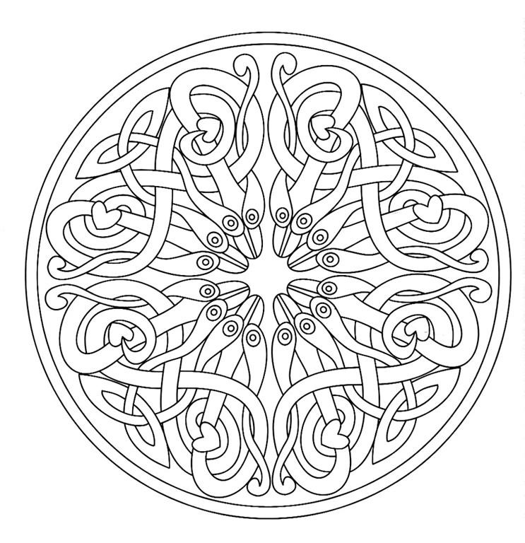 mazuras mandala coloring pages - photo#19