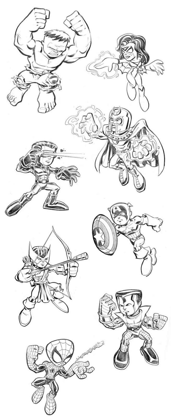 Os Vingadores Desenhos Para Colorir Pintar E Imprimir Gratis