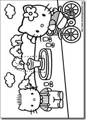 Hello Kitty Desenhos Para Imprimir Colorir E Pintar Desenhos
