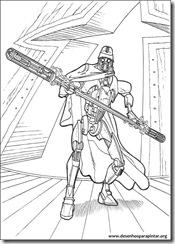 Star Wars Guerra Dos Clones Desenhos Para Pintar Colorir E