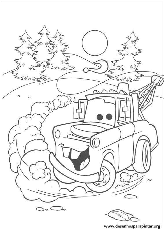 Carros Disney Pixar Desenhos Para Imprimir Colorir E Pintar Do