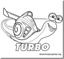 Turbo O Caracol Mais Rapido Do Mundo Desenhos Para Imprimir