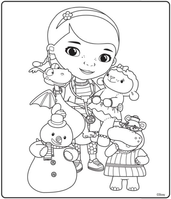 Doutora Brinquedos Desenhos Para Imprimir Colorir E Pintar U00bb