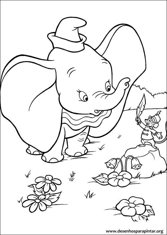 Imagenes De Elefantes Para Colorear E Imprimir