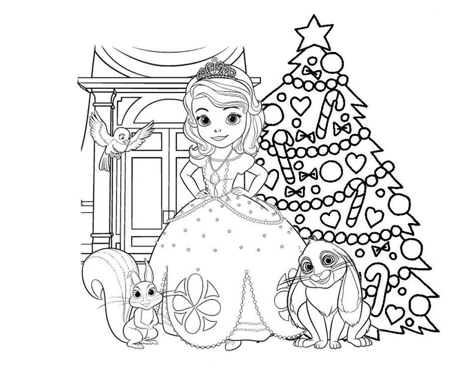 Princesa Sofia Da Disney Desenhos Para Imprimir Colorir E Pintar