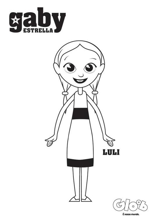 Gaby Estrella Desenhos Para Imprimir Colorir E Pintar Do Gloob