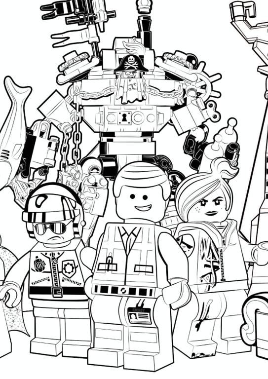 Emmet Batman E Os Personagens De Aventura Lego O Filme