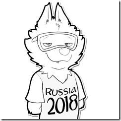 Zabivaka O Mascote Da Copa Do Mundo De Futebol Russia 2018